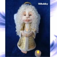 Кукла Ангел Хранитель со свечей