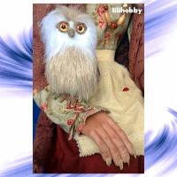 Кукла Баба Яга с Совушкой и путеводным клубком 4