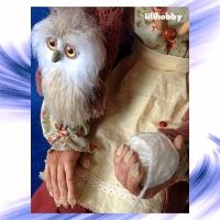 Кукла Баба Яга с Совушкой и путеводным клубком 3