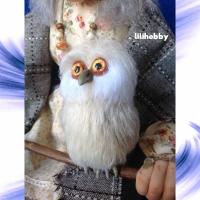 Кукла Баба Яга с совой (1)