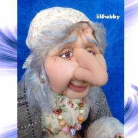 Кукла Баба Яга с совой (3)