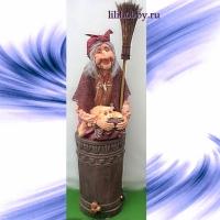 Баба Яга в ступе 3