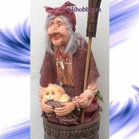 Баба Яга в ступе 7