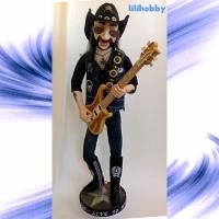 Кукла Бас гитарист Лемми 14