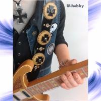 Кукла Бас гитарист Лемми 12