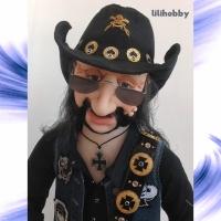 Кукла Бас гитарист Лемми 10