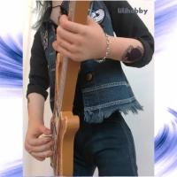 Кукла Бас гитарист Лемми 5