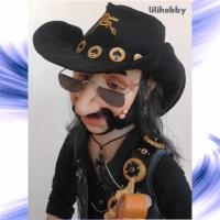 Кукла Бас гитарист Лемми 15