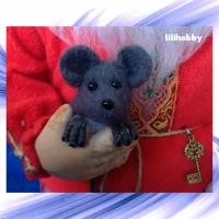 Кукла Домовой с мышкой 2