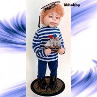 Кукла Морячок ОП4