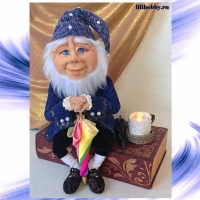Оле Лукойе кукла шкатулка ночник 7