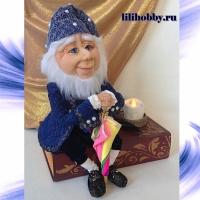 Оле Лукойе кукла шкатулка ночник 9