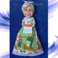 Кукла пакетница19