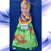 Кукла пакетница21