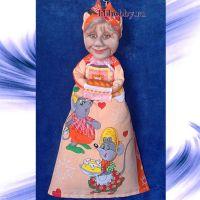 Кукла пакетница23