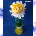 Кукла светильник ароматизатор Ромашка