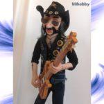 Кукла Бас гитарист Лемми 13