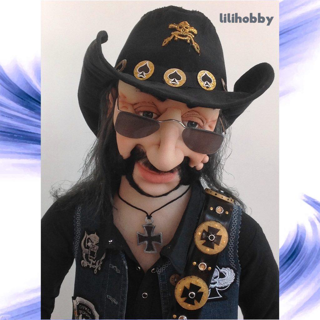 Кукла Бас гитарист Лемми 11