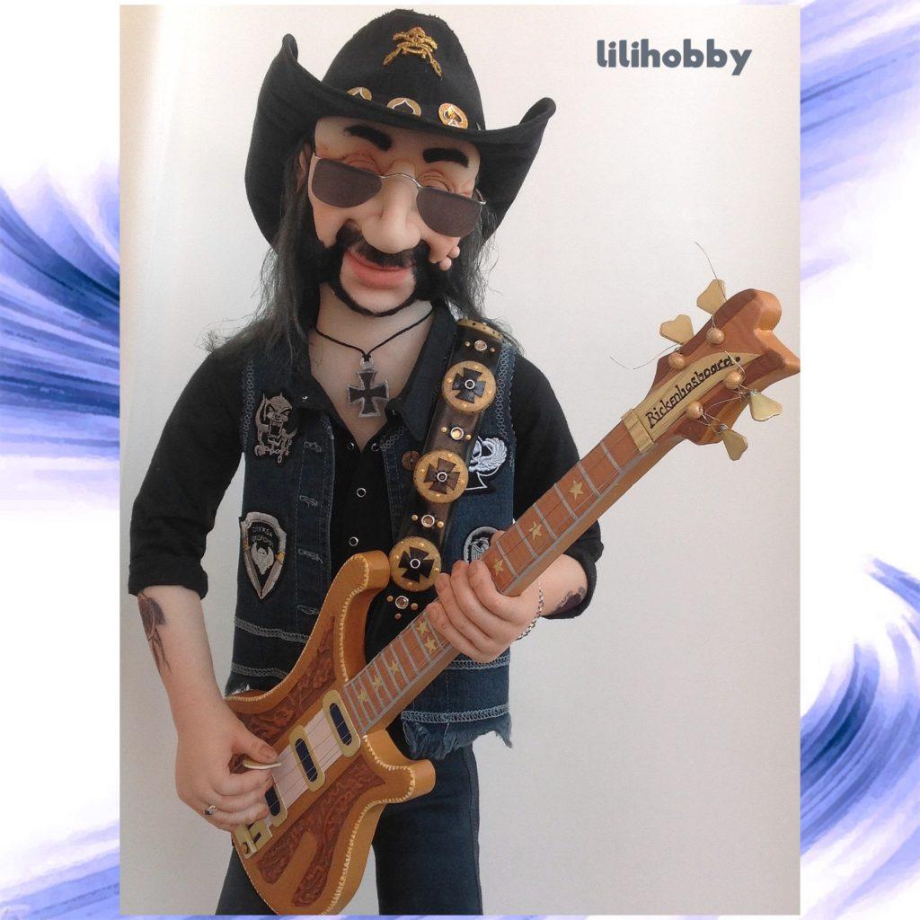 Кукла Бас гитарист Лемми