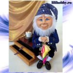 Оле Лукойе кукла шкатулка ночник 8